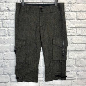 Ralph Lauren Rugby Wool Knee Length Cargo Pants